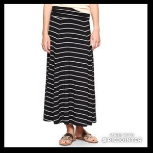 GAP Striped Maxi Skirt (Size XS)